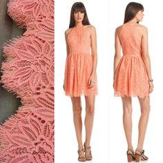 Loving scalloped eyelash lace this season! In stores now! #trinaturk #lace #summer http://bit.ly/1HMUbu2