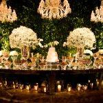 Decoração Clássica de Casamento♥Branco e Verde♥Por Roberta Fasano