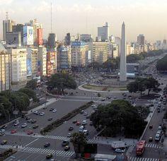 La Avenida mas ancha del mundo (hasta ahora)