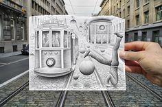 Gorgeus art from  Ben Heine #art  #illustration #gorgeus #beautiful