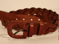 Cinturon trenzado #Cuero #Leather #cinturon