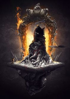 Wow it's been a long time since I submited my last art. I'm just trying to get back into photoshop again, hope you guys enjoy it! Thanks to Marcus Ranum for the grim reaper stock! Dark Fantasy Art, Fantasy Images, Fantasy Artwork, Dark Art, Grim Reaper Art, Grim Reaper Tattoo, Don't Fear The Reaper, Dark Gothic, Gothic Art