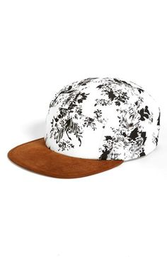 Steve Madden Floral Print Baseball Cap available at #Nordstrom