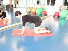 Bloggerin und Fitnesstrainerin Stefanie Bruckert vonfitnessliebe.compräsentiert exklusiv auf vital.de Übungen für das Rückentraining zu Hause.