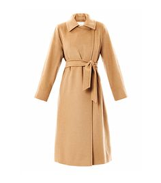 The #1 Coat That Will Make Any Outfit Look Expensive via @WhoWhatWear | Max Mara Manuela coat
