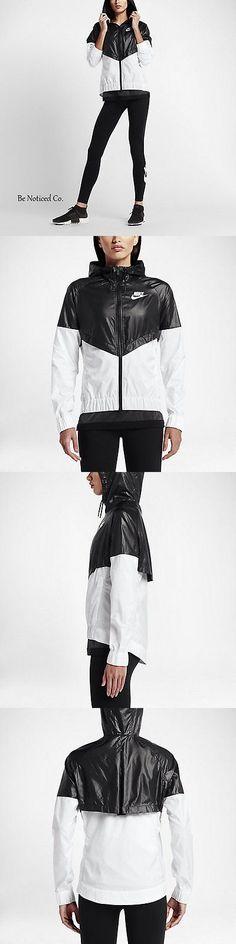 Women Athletics: Nike Sportswear Windrunner Women S Jacket Xs S M L Xl Black White Gym Casual New -> BUY IT NOW ONLY: $72.95 on eBay!