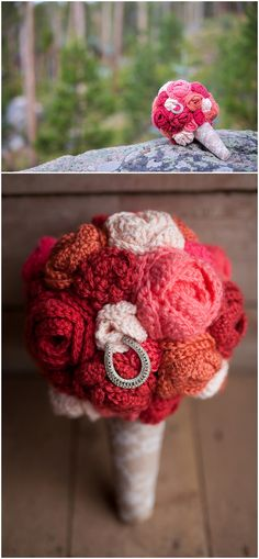crocheted bouquet // photo by Urban Safari Photography