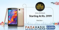 Snapdeal Offer: Get 20% Off On Intex 4G Mobiles  http://www.paisavasul.com/code/snapdeal-offer-get-20-off-on-intex-4g-mobiles  #paisavasul #snapdeal #mobiles #intex4g #intexmobiles