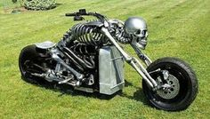 Metal Skeleton Bike