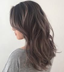 Image result for light brown hair subtle silver ombre