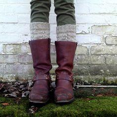 spiderwomanknits : twin peaks boot cuffs
