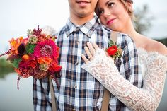 Relaxed and Eclectic Halloween Wedding Inspiration
