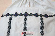 Ie de Rucar, Fagaras. Romania, Costumes, Popular, Embroidery, Patterns, Needlework, Dress Up Clothes, Most Popular, Pattern