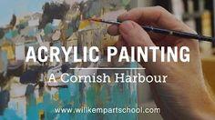 acrylic painting - YouTube