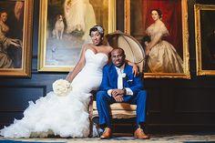 Classic Atlanta Wedding with a Dramatic Flair: Melanie and Cory |Munaluchi Bride munaluchibridal.com
