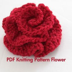 Flower Knit Pattern
