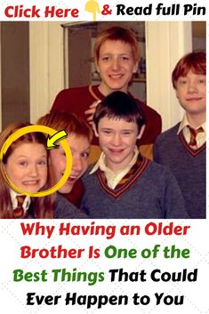 Why Having an Older Brother Is One of the Best Things That Could Ever Happen to You - Famous Celebrities, Beautiful Celebrities, Funny Jokes, Hilarious, Funny Things, Good Things, Love You Unconditionally, Future Goals, Always Love You
