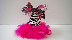 Zebra Birthday Hat