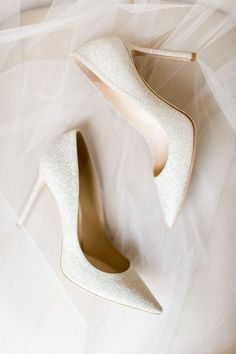 wedding shoes 24 Most Wanted Wedding Shoes For Bride amp; Bridesmaids wedding shoes sequins ivory with heels cavin elizabeth photography Unique Wedding Shoes, Wedding Shoes Bride, Wedding Shoes Heels, Bride Shoes, Wedding Bridesmaids, Shoes For Brides, Best Bridal Shoes, White Wedding Shoes, Bridal Heels