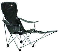 Vango Ventura Camping Chair With Foot Rest   Black (Old Version) Vango Http: