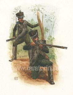 Line Infantry Jagers, 1812