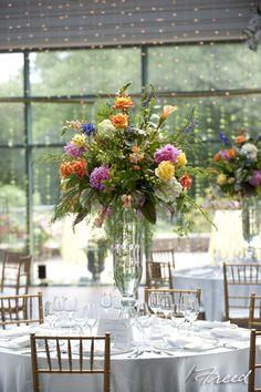 Karin's Florist loves designing flowers at Meadowlark Gardens