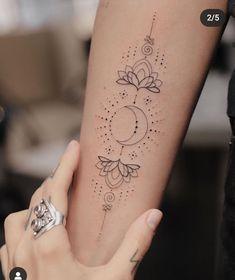 Dainty Tattoos, Pretty Tattoos, Mini Tattoos, Cool Tattoos, Tatoos, 3d Tattoos, Unalome Tattoo, Sternum Tattoo, Tattoo Ink