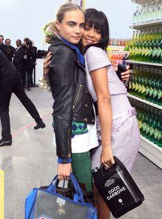 Les enfants terribles : Rihanna et Cara Delevingne
