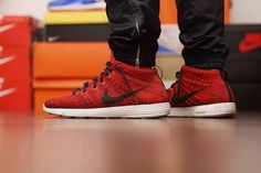 "Nike Flyknit Chukka ""University Red"""