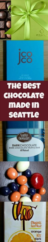 Seattle's very best chocolate makers - personally tested (nom).