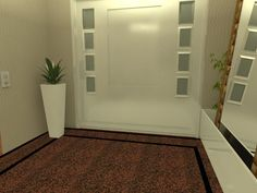 Hall Social - Apartamento Residencial
