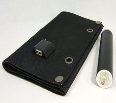 Folding USB Solar Cell – $60