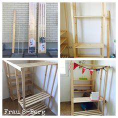 kletterger st f r drinnen kinder selber bauen diy 1 kinderzimmer. Black Bedroom Furniture Sets. Home Design Ideas