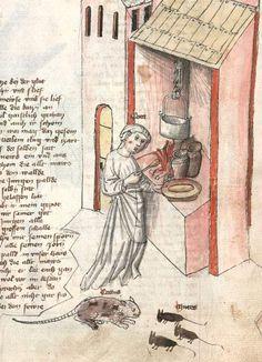 Speculum humanae salvationis. Memento mori-Texte [u.a.] Bayern - Österreich, I: zwischen ca. 1440 - 1466, II: um Mitte 15. Jh., III: 2. Viertel 15. Jh. Cgm 3974  Folio 163