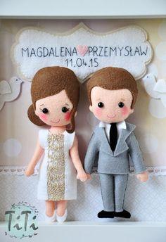 Mamy lato, sezon ślubny rozpoczął się na dobre, u mnie oznacza to pamiątki ślubu na tapecie. Nazbierało się trochę tego w ostatnim czasie :)...