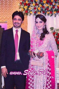 Sana Khan and Babar Khan Wedding Pic 06 535x800 wedding wear celebrity gossips