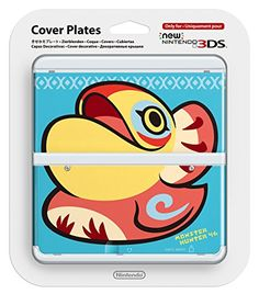 New Nintendo 3ds Cover Plates No.037 (monster hunter 4G) ... https://www.amazon.com/dp/B00NAW5VGS/ref=cm_sw_r_pi_dp_x_PoA4ybXN6EPVD