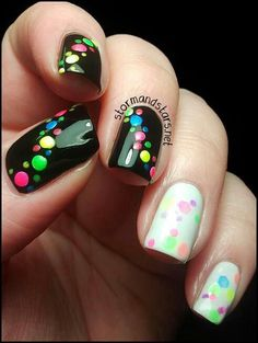 Having short nails is extremely practical. The problem is so many nail art and manicure designs that you'll find online Get Nails, Fancy Nails, Love Nails, Pretty Nails, Hair And Nails, Nail Polish Designs, Nail Art Designs, Nails Design, Nagellack Design