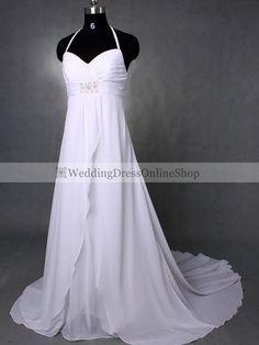 Halter Wedding Dresses, Halter Neck Wedding Gown Online for Sale