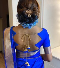 This Brand Has The Quirkiest Saree Blouse Designs For Your Wedding Ceremonies! | ShaadiSaga Blouse Back Neck Designs, Back Dress Design, New Saree Blouse Designs, Blouse Designs Catalogue, Simple Blouse Designs, Stylish Blouse Design, Choli Designs, Bridal Blouse Designs, Blouse Patterns