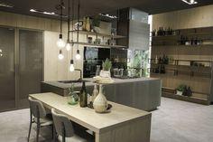 Architect Michele Marcon heeft een combinatie gemaakt van de Snaidero keukenmodellen Look en Loft. Deze prachtige keuken is een aanwinst voor iedere woning!