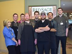 """""""Best restaurant in Pullman, who would have know it was in a hospital."""" #RedSage #CommentCard"""