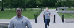 There's nothing Sam Wilson likes more than a friendly morning run with Steve Rogers.