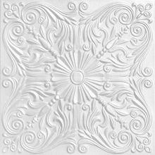 """Spanish Silver - Styrofoam Ceiling Tile - 20""""x20"""" - #R139"""