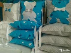 Текстиль в детскую кроватку(бортики, одеяла, пост— фотография №1