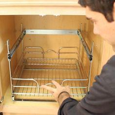 Hometalk :: A Proven System for Kitchen Cabinet Organization