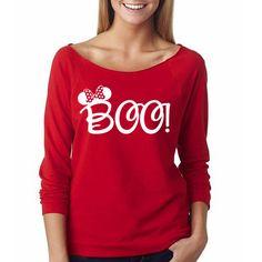 "Disney ""Minnie Boo"" Halloween Shirt // Mickey's Not-So-Scary Halloween Party Shirt // Mickey Halloween Shirt // Disney Halloween Shirt by HimAndGem on Etsy https://www.etsy.com/listing/249658597/disney-minnie-boo-halloween-shirt"