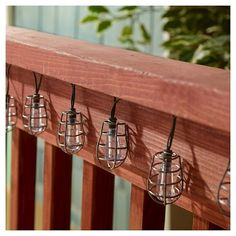 This string of solar-powered lights are ideal for decorating shrubs, patio umbrellas and doorways. It includes 20 multicolored LEDs powered by an integral solar panel and replaceable, rechargeable Ni-Mh AA batteries, included, so you can place them in shady areas. They produce up to 8 hours of illumination when fully charged. No wiring is required.