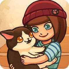 Adopt an assortment of adorable cats, help your customers find their purrfect match, and customize your cafe to bring the ultimate joy! Furistas Cat Cafe captures the personalities of real-life cats and will melt your heart. Neko, Adoption, Kitty Games, Cat Playground, Cat Cafe, Cool Cats, Android Apk, Real Life, Game 1