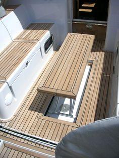 Table nouvelle génération en montée - Sailboat about you searching for. Yacht Design, Boat Design, Sailboat Interior, Yacht Interior, Yacht Boat, Pontoon Boat, Yacht Luxury, Sailboat Restoration, Boat Table